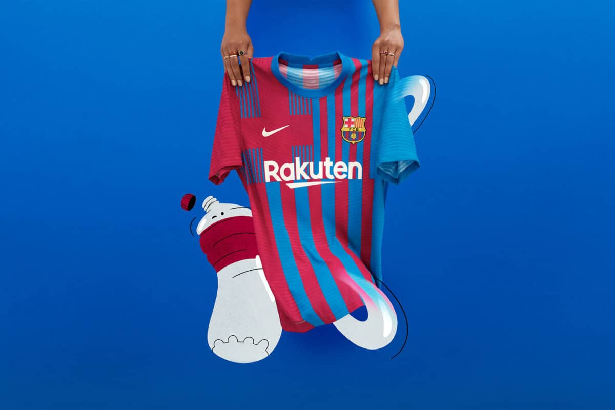 Modern-Day Style, Time-Tested Values Guide FC Barcelona's 2021 Home Kit