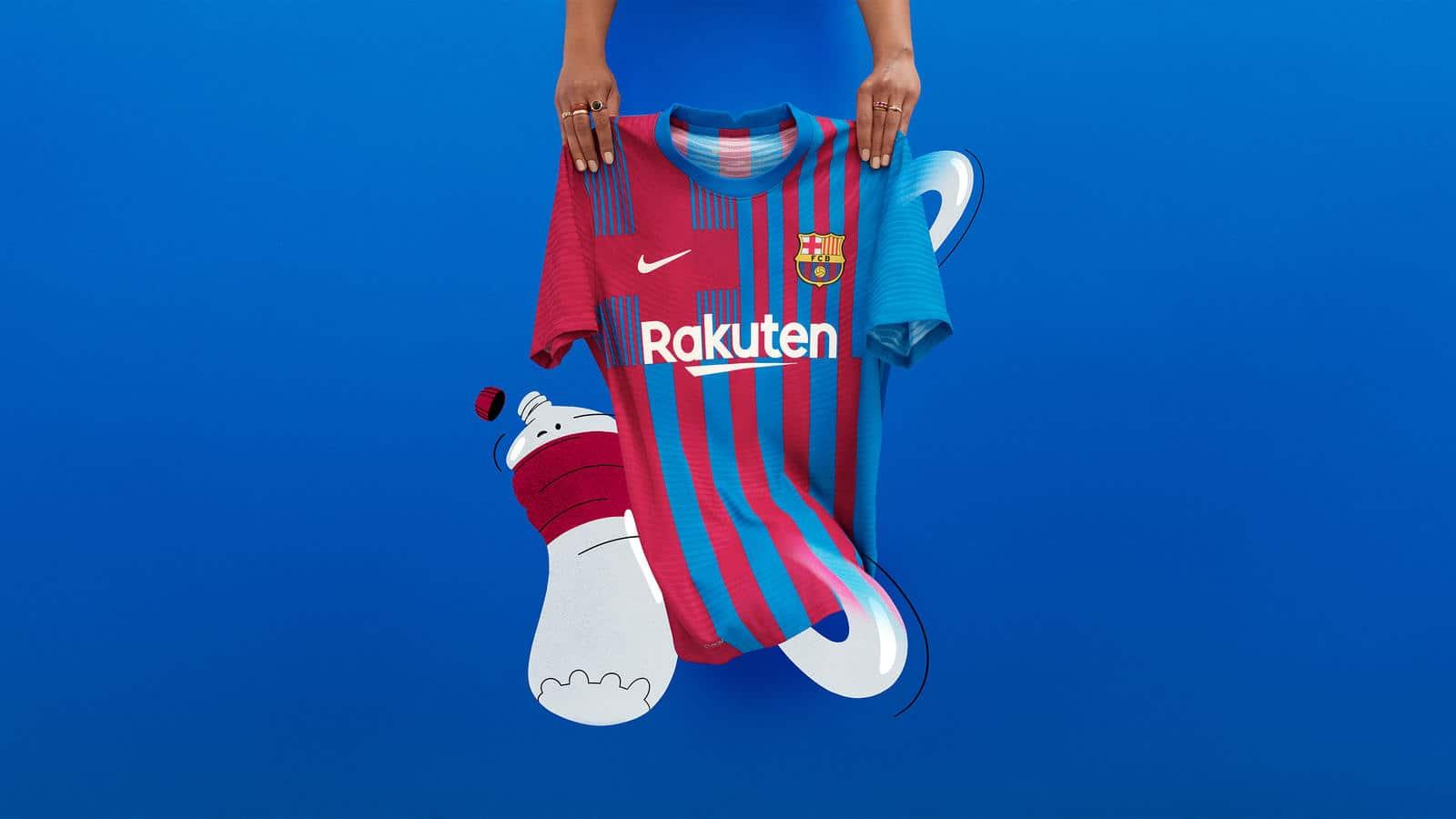 FC Barcelona's 2021-22 home kit