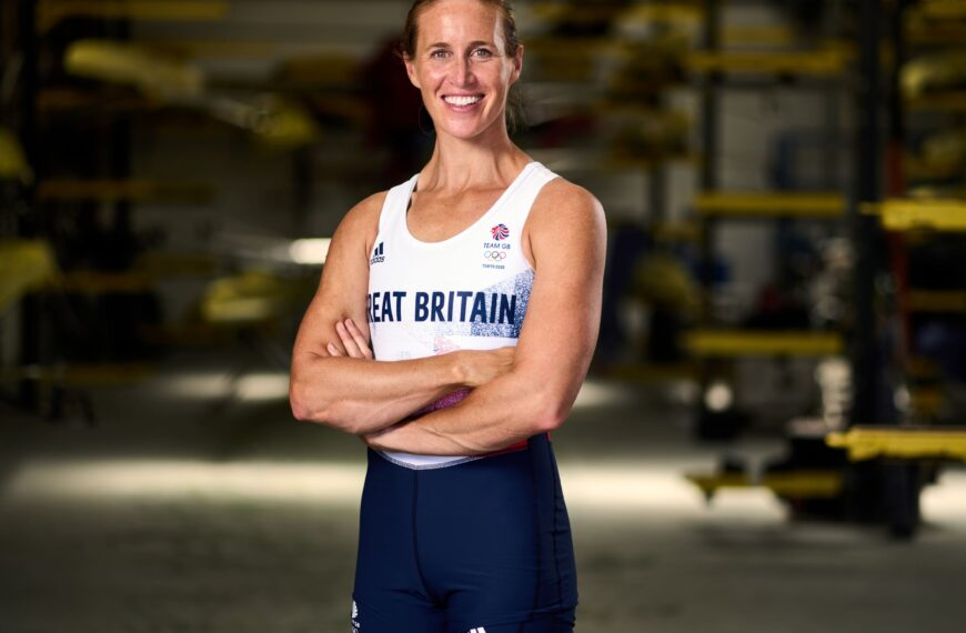 After Four Years Off, New Mum Helen Glover Now Takes On The Epic Challenge To Row For Team GB At The Tokyo 2021 Olympics
