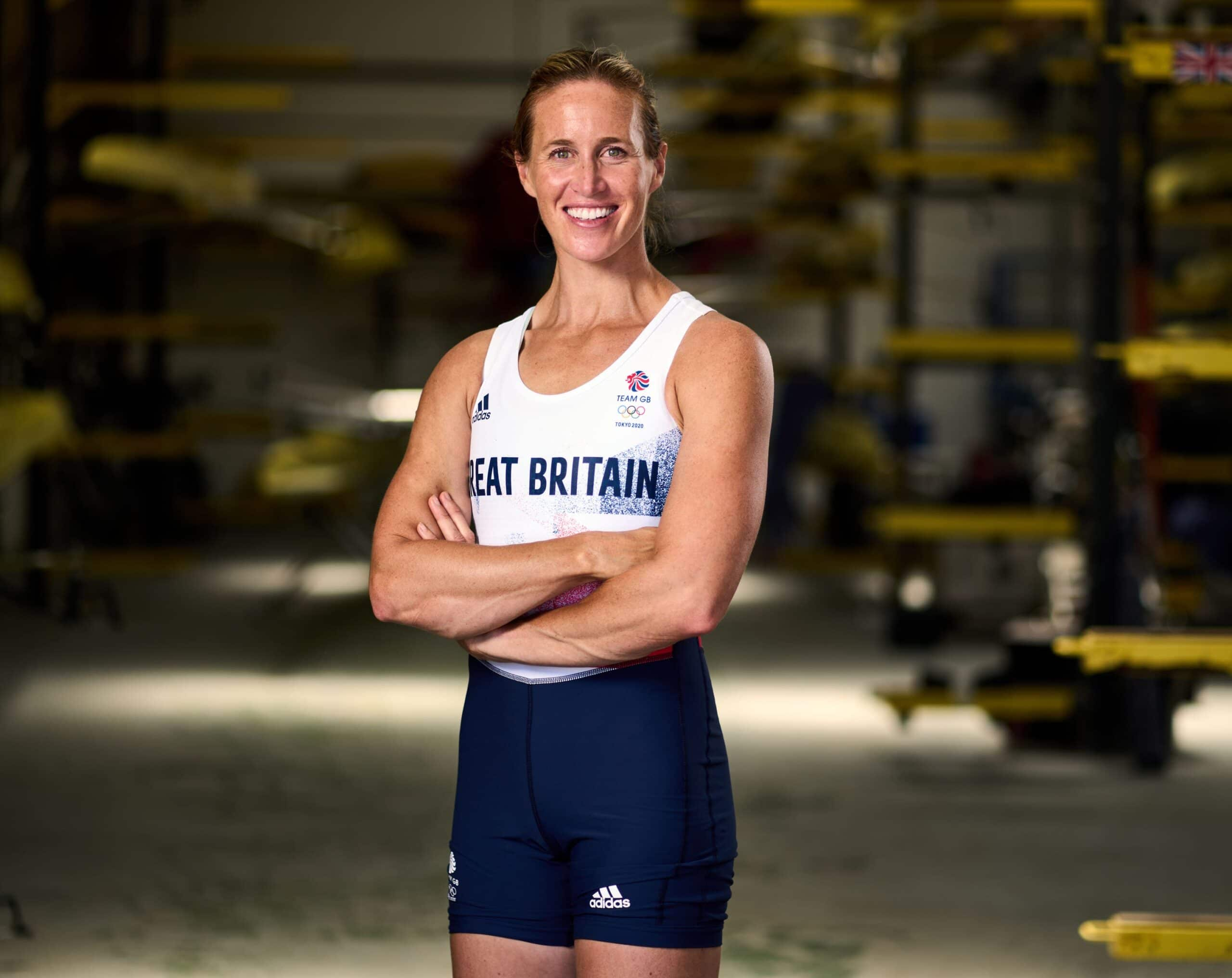 Helen Glover rows for team gb