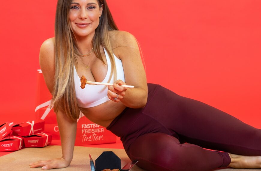 Chopstix Clicks Sticks With Louise Thompson To Launch New Skinny Rice