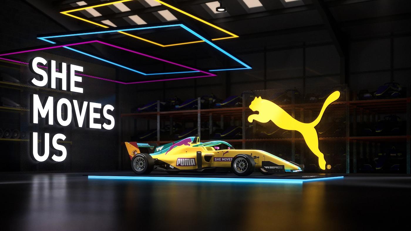 Puma Enhances Engagement In Female Racing By Announcing Puma W Series Team