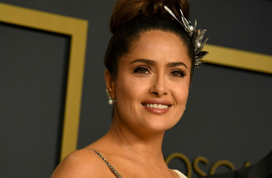 Salma Hayek On Putting A Menopausal Woman In The Centre Of An Action Film