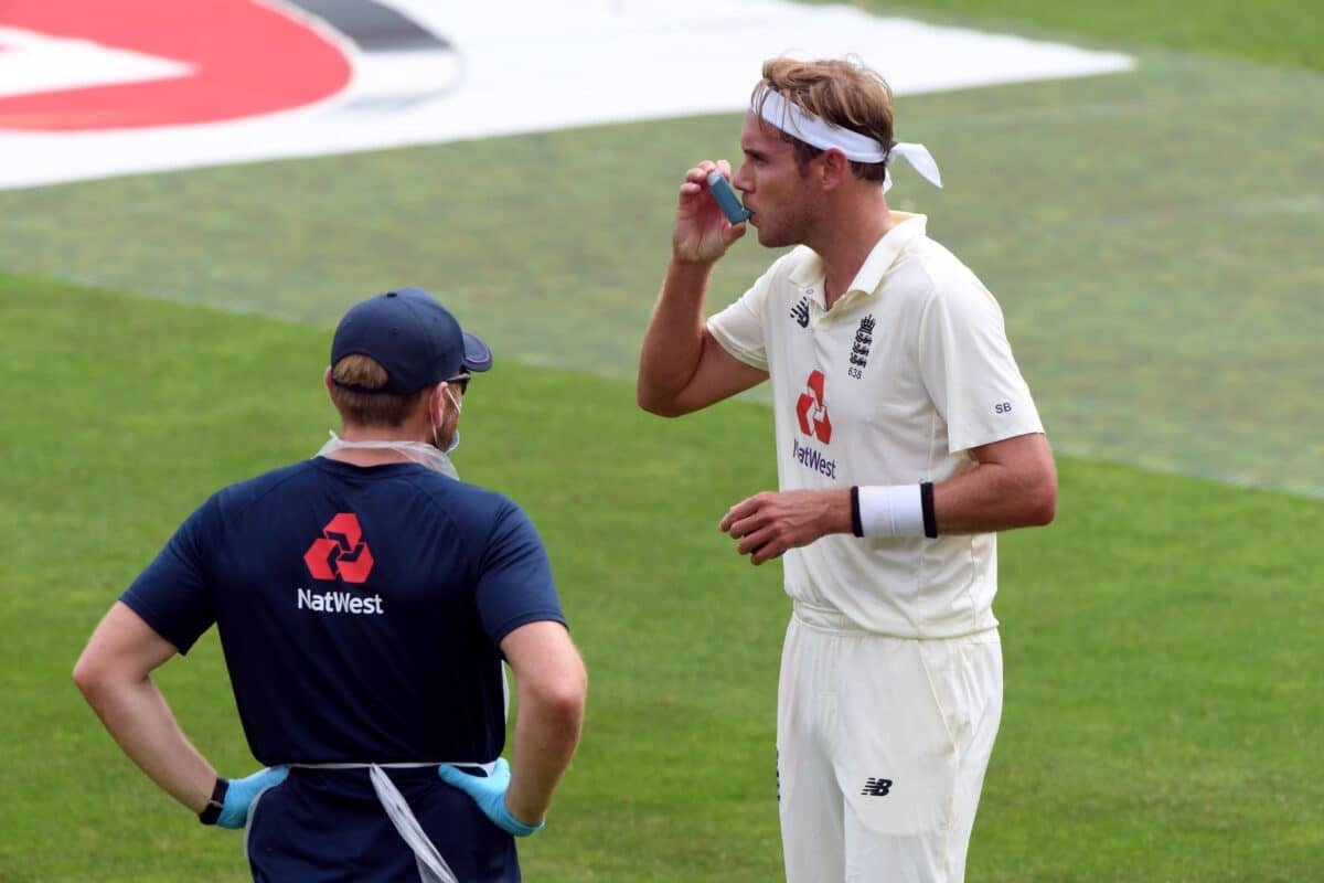 One Of The World's Best Ever Bowlers Stuart Broad On Coming To Terms With His Asthma And How He Manages His Condition
