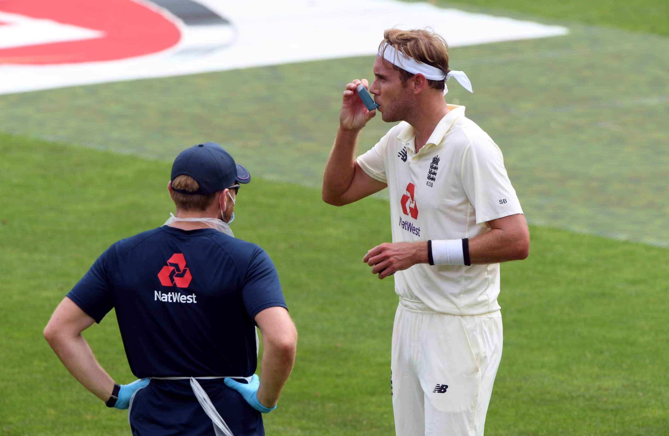 Stuart Broad On Coming To Terms With His Asthma