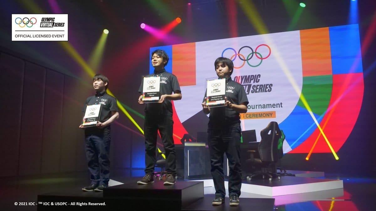 Olympic Virtual Series Baseball Event Hits Home Run