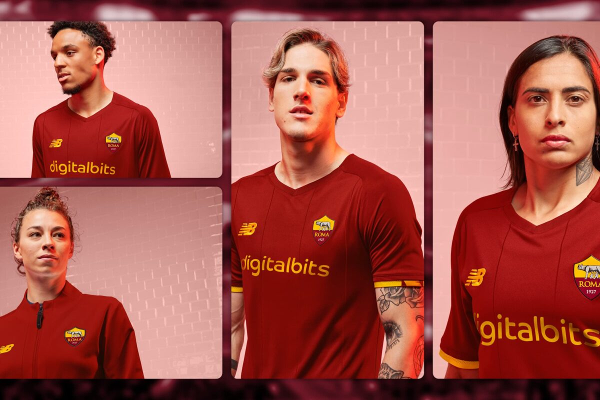 AS Roma 21/22 Home Kit Released By New Balance