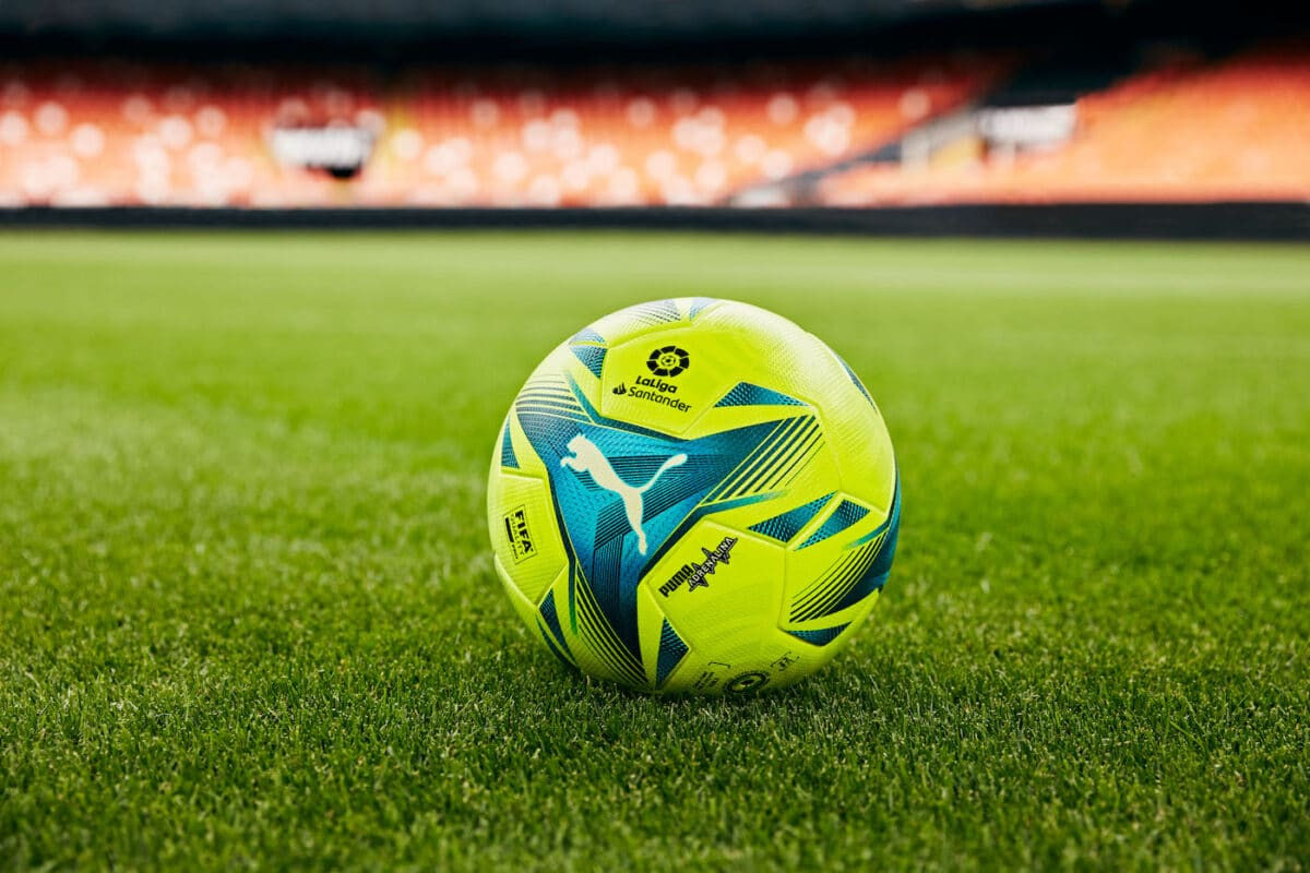 Puma Brings The Energy With The New Adrenalina Match Ball For The 2021/22 Laliga Season