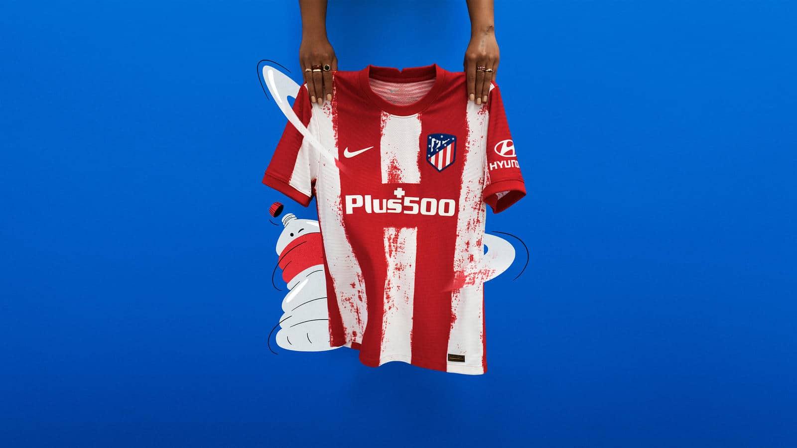 Atlético de Madrid 2021 Home Kit