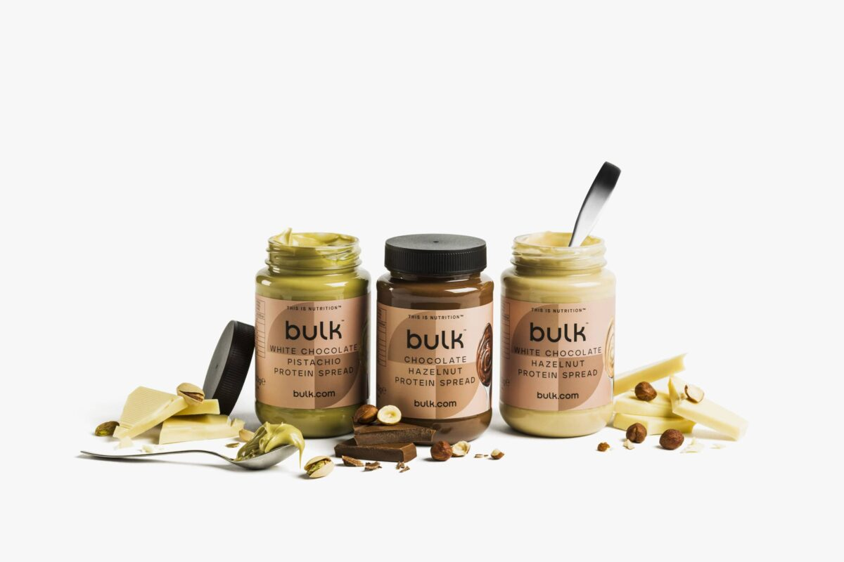 Bulk Launches Nutritious Protein Spreads In Three Delicious Flavours