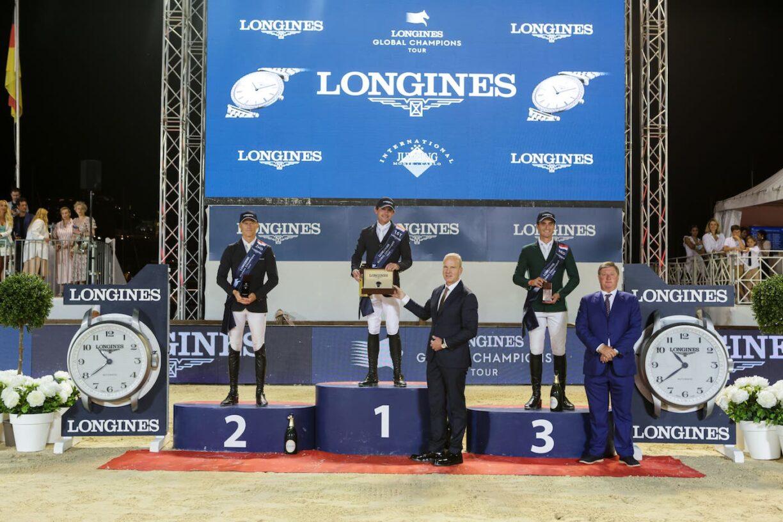 Darragh Kenny claims sensational victory on Idalville d Esprit in the Longines Global Champions Tour Grand Prix du Prince de Monaco 4