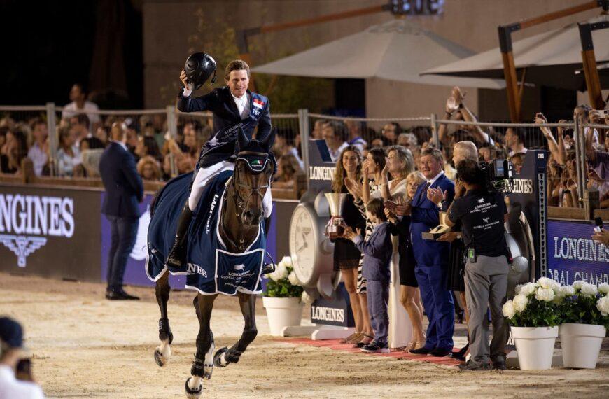 Darragh Kenny Claims Sensational Victory In The Longines Global Champions Tour Grand Prix Du Prince De Monaco