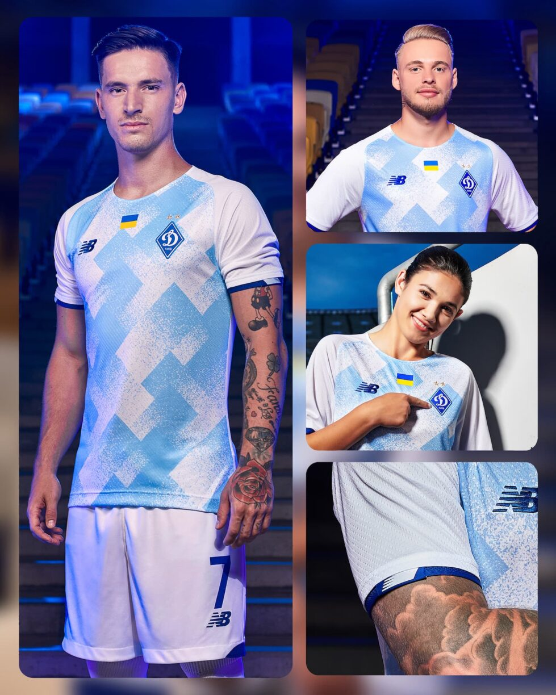 Dynamo Kyiv 202122 Home and Away Kits 2
