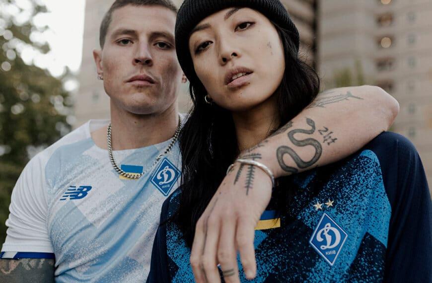 New Balance Reveals Dynamo Kyiv 2021/22 Home and Away Kits