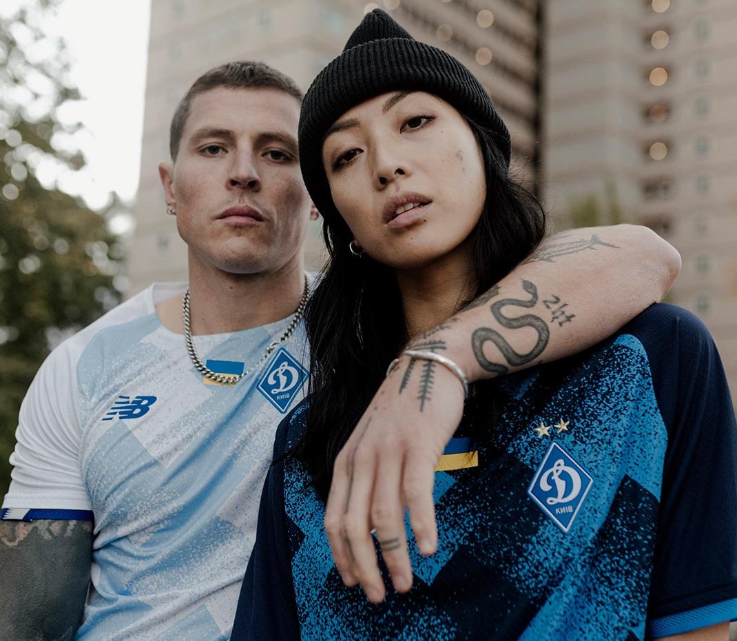 Dynamo Kyiv 2021/22 Home and Away Kits