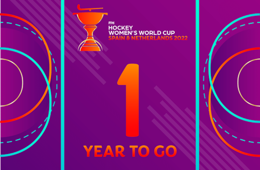 One Year To Go To The Next FIH Hockey Women's World Cup!