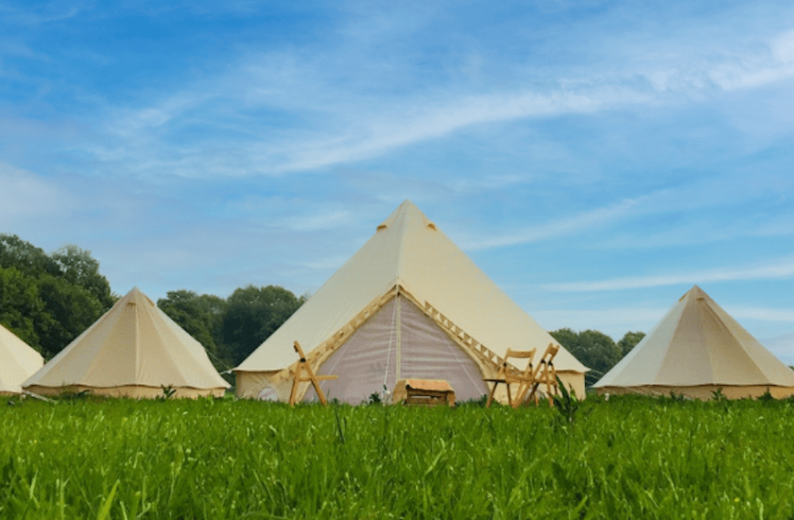 All-Inclusive, Luxury Glamping Retreat Launched By David Lloyd Clubs To Help Brits Holiday This Summer