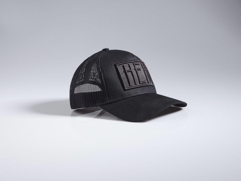 Hex MCR Unisex Triple Black Caged Trucker Hat