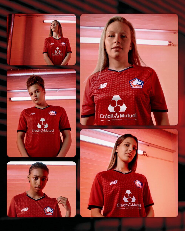 LOSC Lille 2021/22 Home Kit