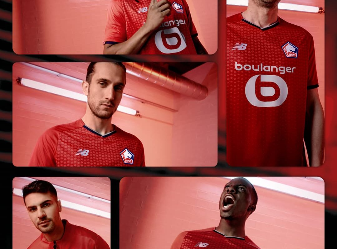 LOSC Lille 2021/22 Home Kit Unveiled