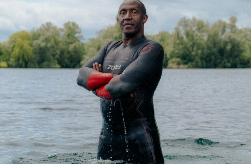 Linford Christie: Open Water Swimming Is So Peaceful