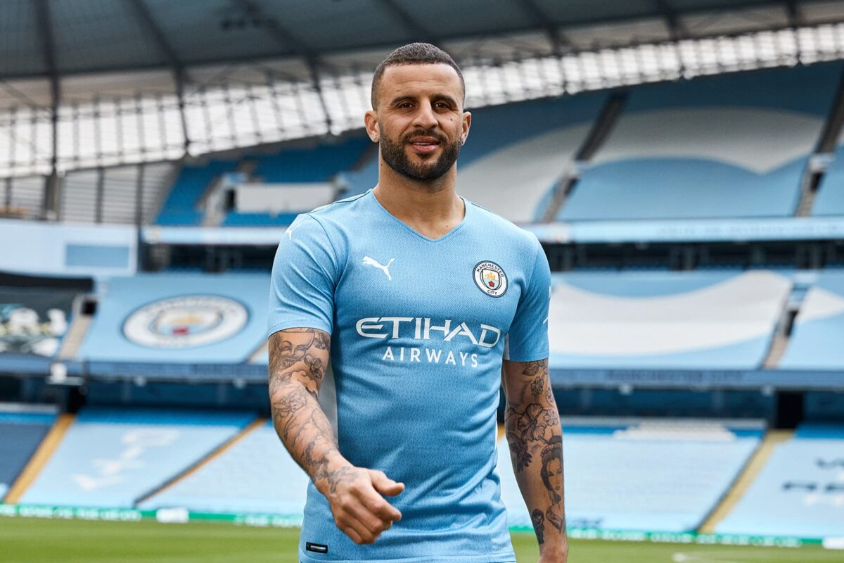 93:20 Manchester City Unveil New 2021-22 Home Kit In Tribute To The Goal That Marked A New Era For City