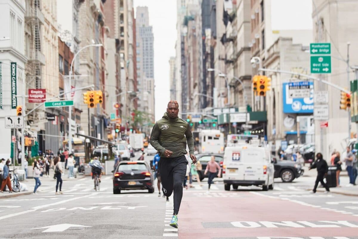 New Balance Launches The 2021 TCS New York City Marathon Collection In Celebration Of The 50th Running