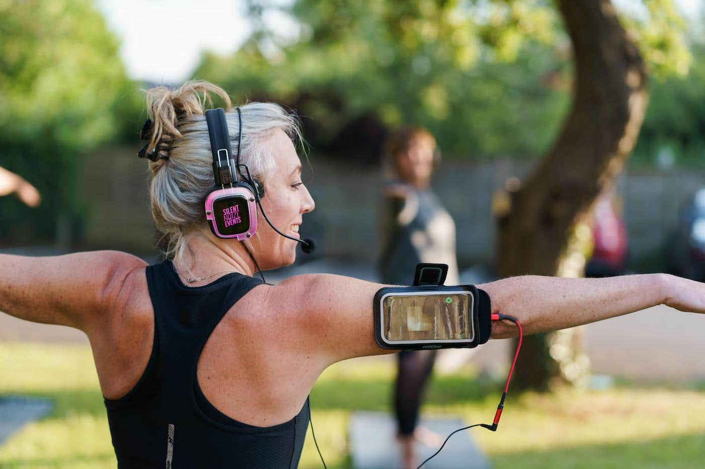 Silent Noize Brings Peace Of Mind To Outdoor Fitness