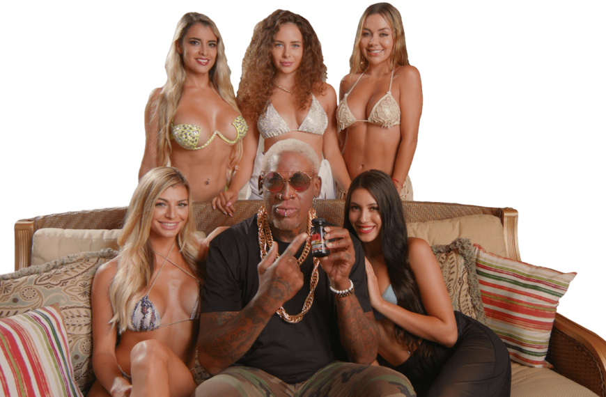 """Dennis Rodman """"ManTFup"""" Products Launched To Boost Men's Strength, Stamina & Energy"""
