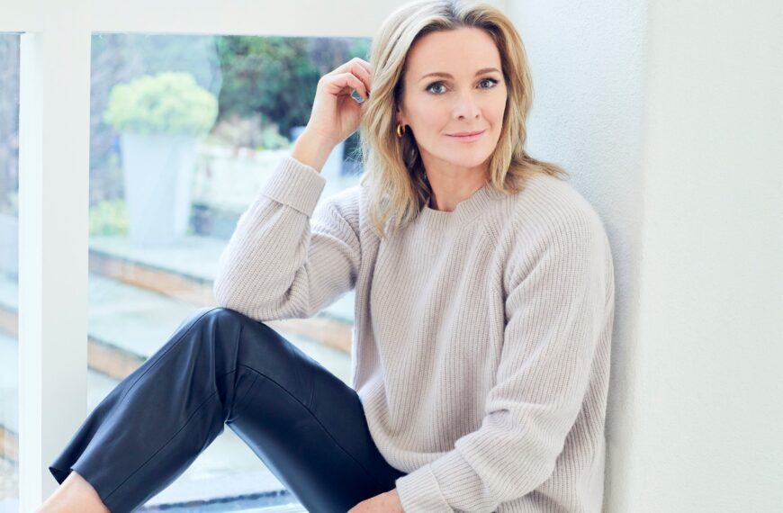 Gabby Logan Tells Us Why She Is Much Nicer After She's Had Her Workout