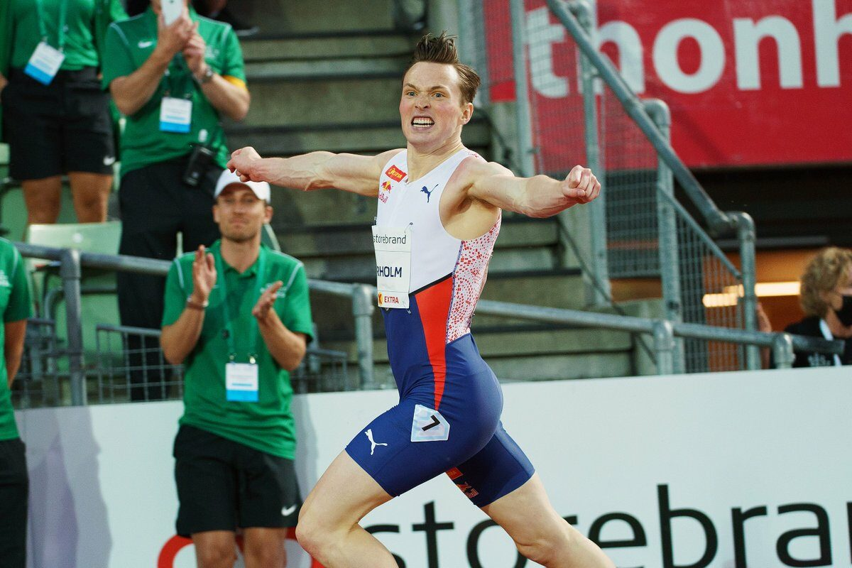 Karsten Warholm Breaks World 400m Hurdles Record With 46.70 In Oslo