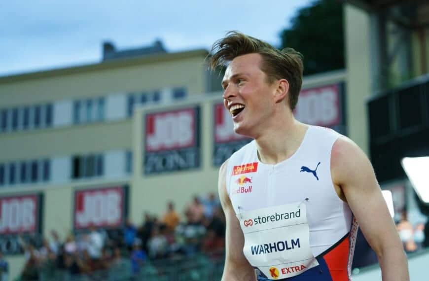 How No Fear And Having Fun Helped Karsten Warholm To His World Record In Oslo