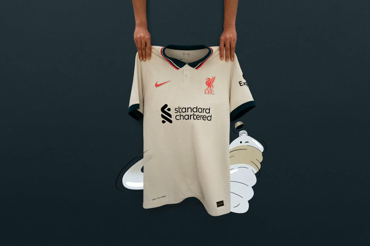 The Liverpool FC 2021-22 Away Kit Brings Fans Even Closer to Their Club
