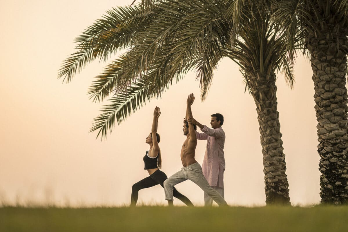 Channel Lunar Energy Through Yoga At Four Seasons Hotel Bahrain Bay