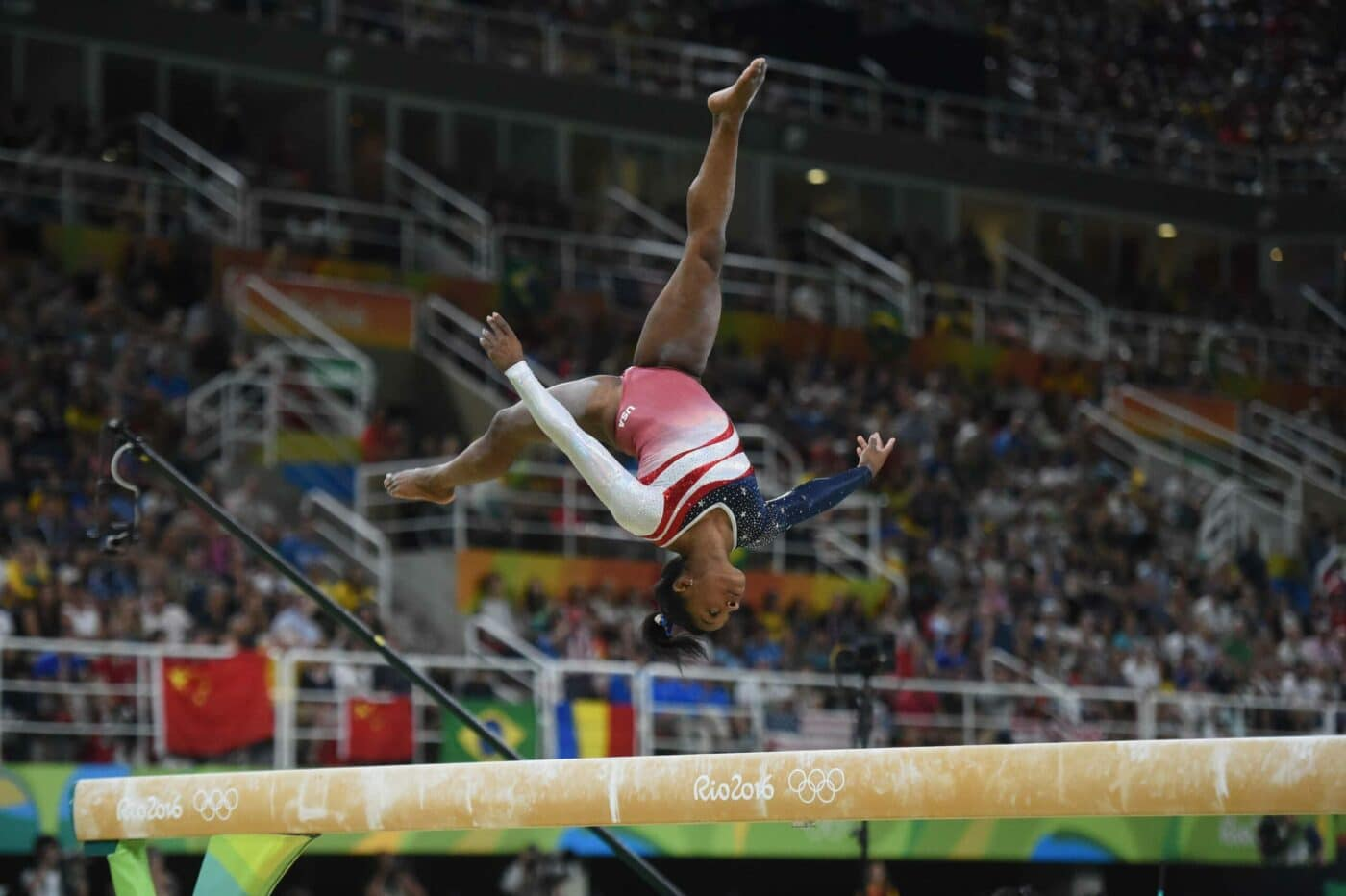 Simone Biles The Greatest Gymnast Of All Time