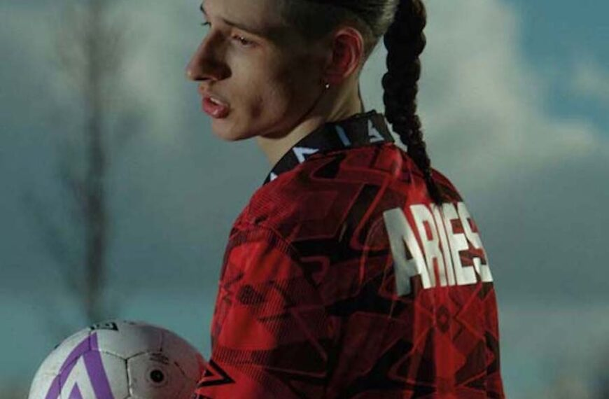 Umbro Collaborate With Streetwear Brand Aries To Drop A Limited-Edition Unisex Capsule Collection