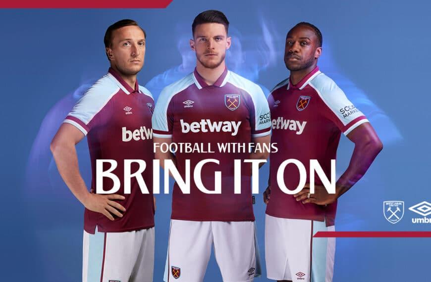 West Ham United 2021/22 Home Kit