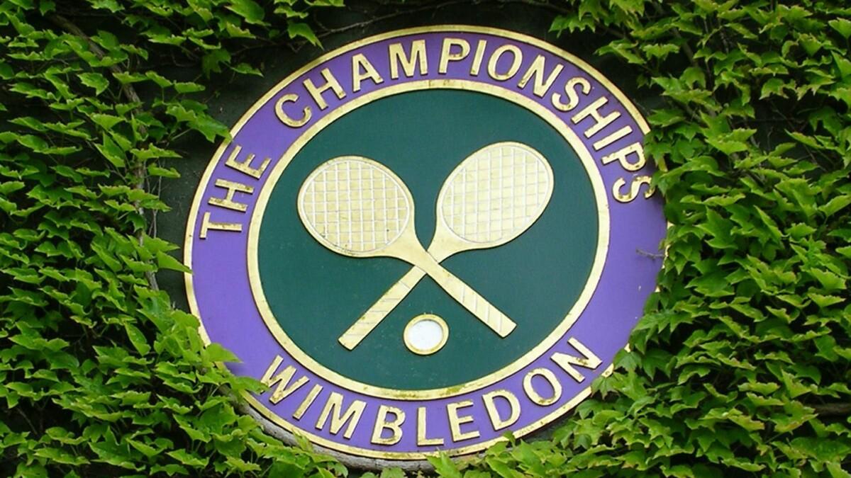 wimbledon tennis championships plaque
