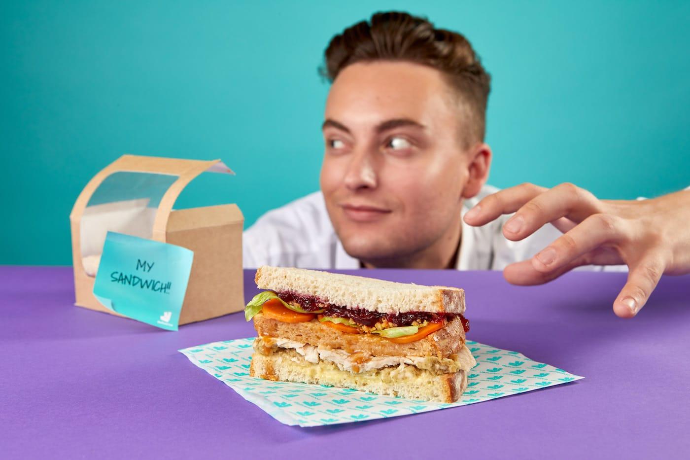ross geller moist maker sandwich