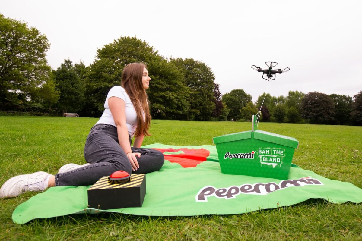 Peperami Has Produced The UK's First GPS Enabled Picnic Blanket