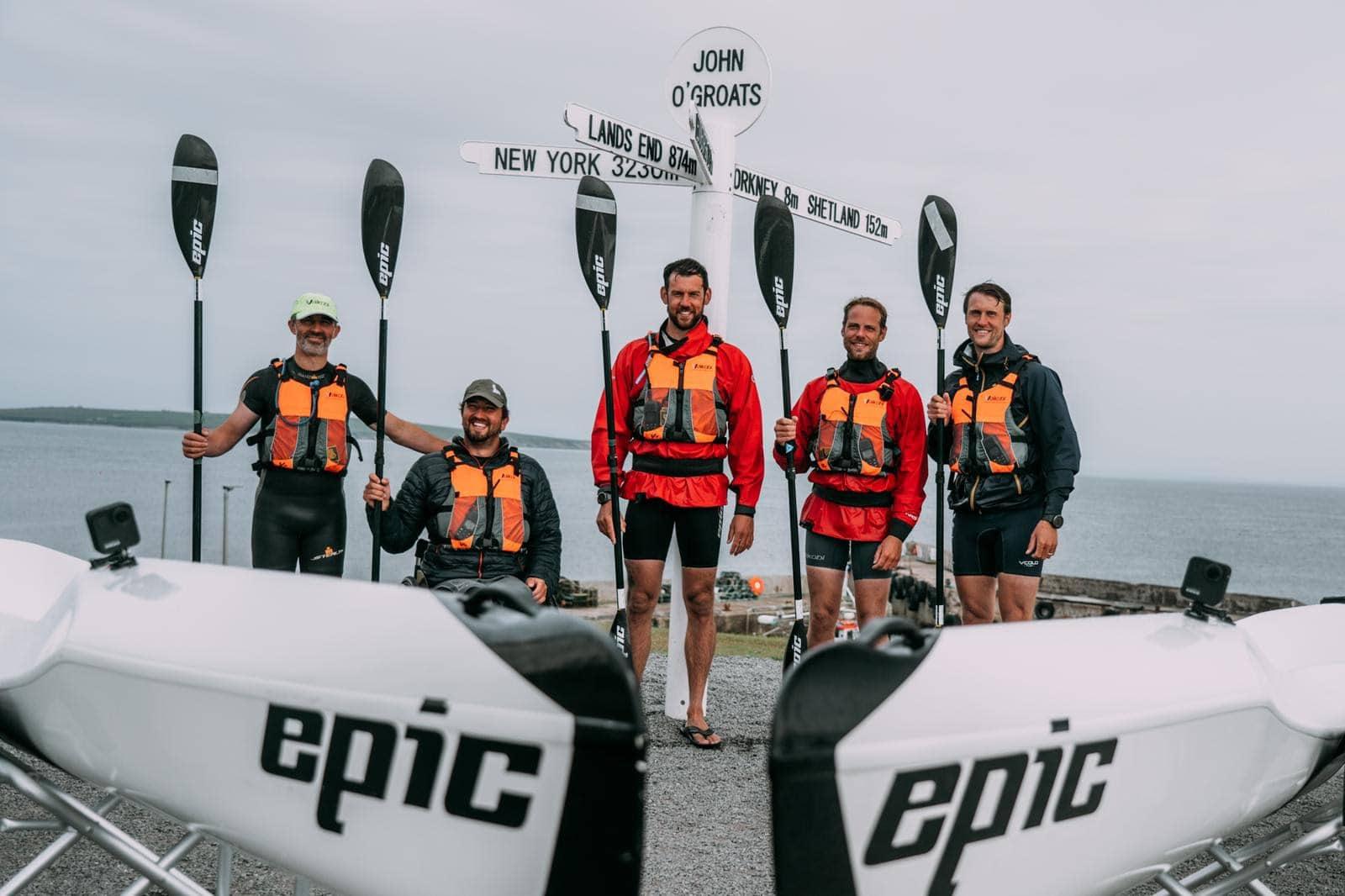 World-First Kayak Challenge