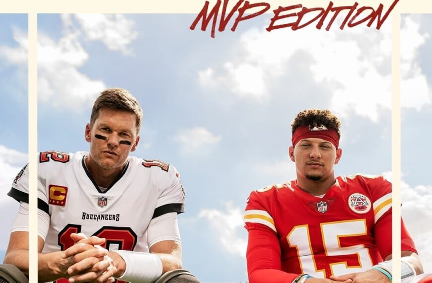 Electronic Arts Announces Madden NFL 22 With An Iconic Cover That Features Both Tom Brady and Patrick Mahomes