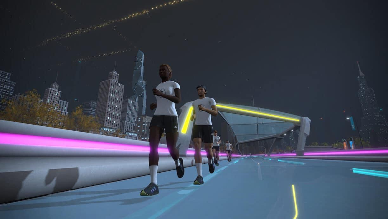 Zwift Adidas Running TAKE IT FORWARD Event