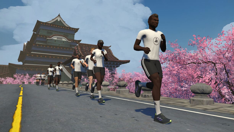 Zwift x Adidas Running TAKE IT FORWARD Event