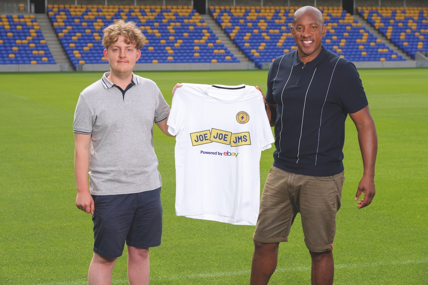 dion dublin with joejoejms