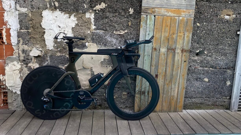 kyle smith triathlon parcours bike