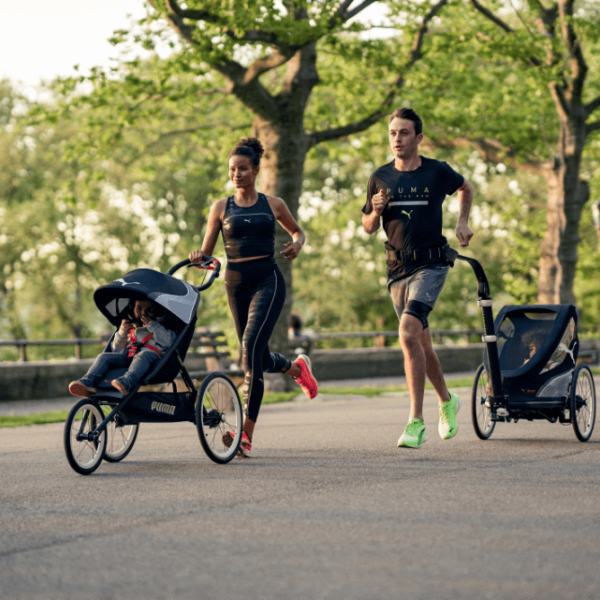 Puma and Cybex Launch Collection Of Strollers For Active Parents Working Out With The Kids