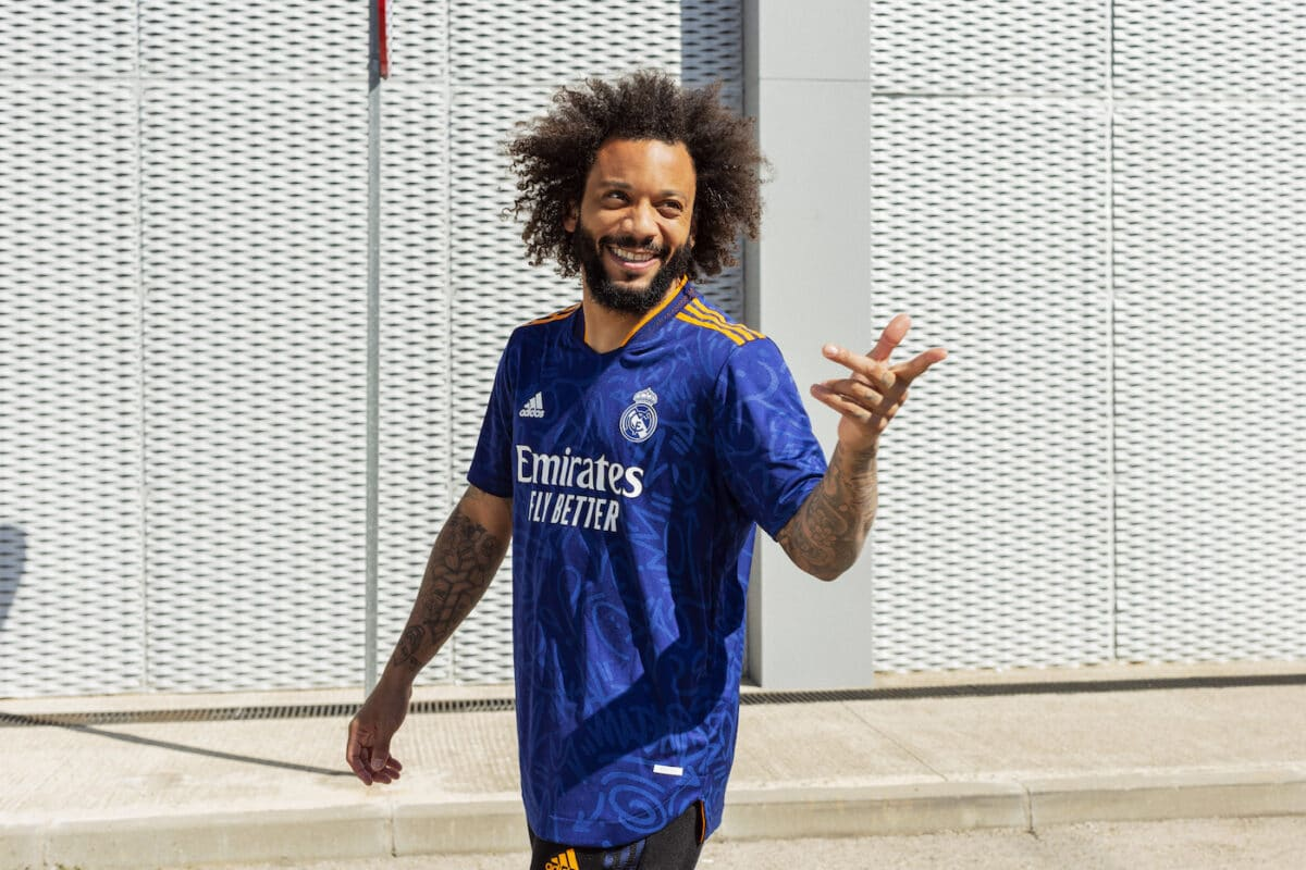 Real Madrid 2021/22 Away Kit, Inspired By The Graffiti Art Of The City