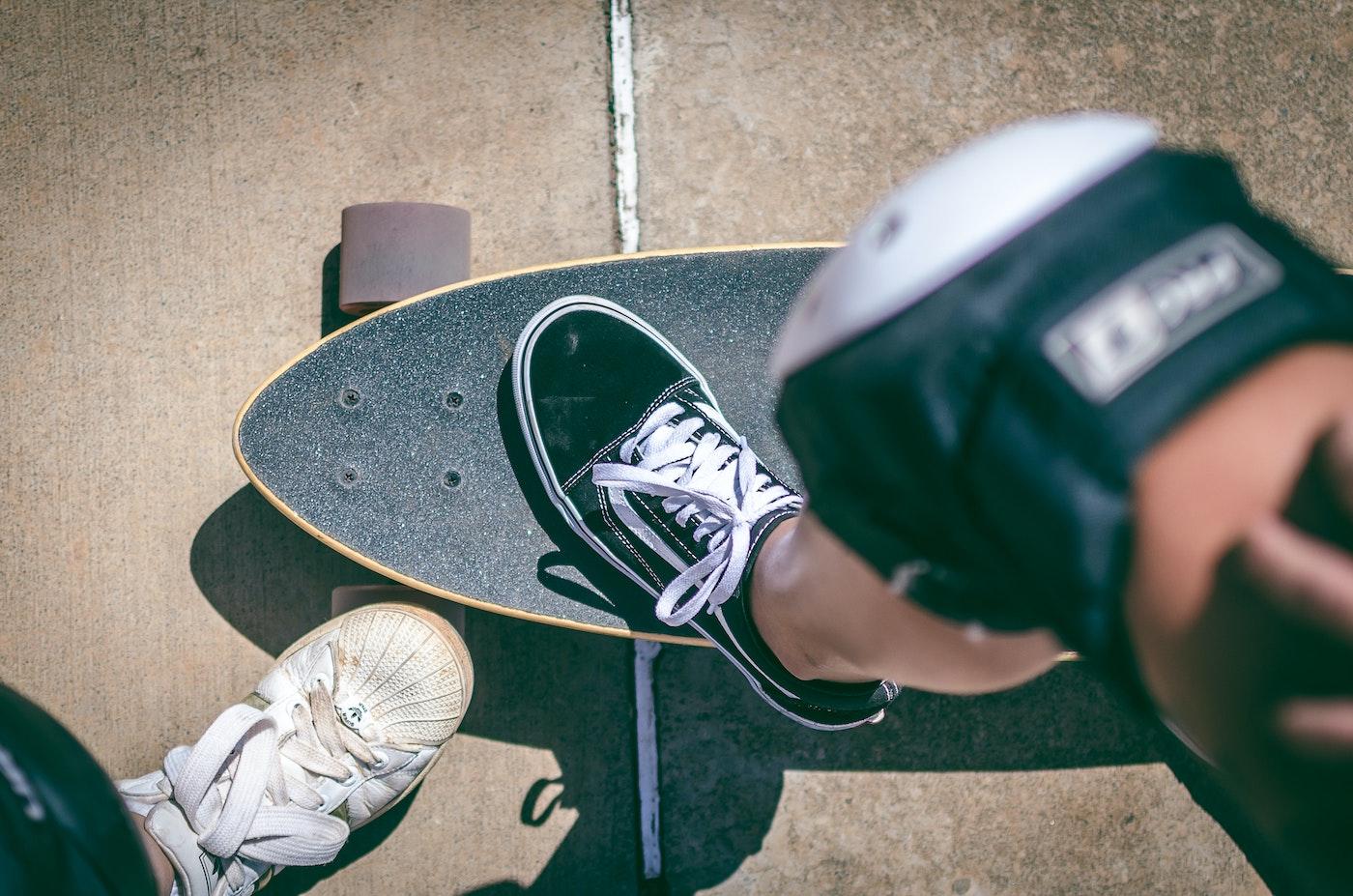 skateboarders shoes