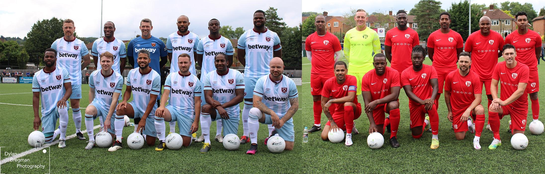 West Ham Legends vs Team Harvey Charity Match 2021